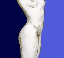 Standing Nude by Philip Smeeton