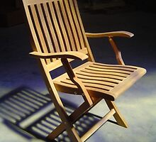 lonely teak chair 2 by eriartha75