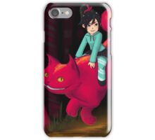 Vanellope and Cheshire iPhone Case/Skin