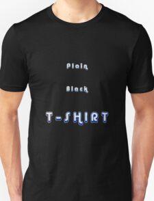 Plain Black T-Shirt T-Shirt
