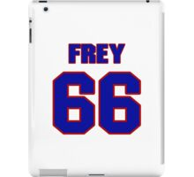 National football player Dick Frey jersey 66 iPad Case/Skin