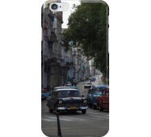 Classic cars on Avenue Di Marti (aka Prado), Havana iPhone Case/Skin