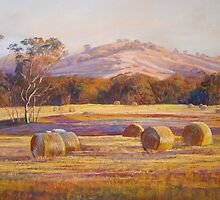 Fields of Gold - Tallarook by Lynda Robinson