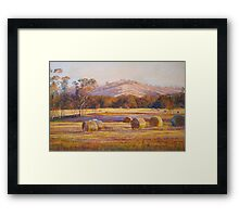 Fields of Gold - Tallarook Framed Print