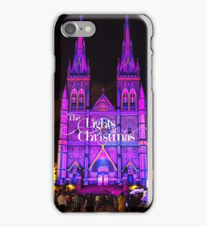 The Lights Of Christmas 2014 iPhone Case/Skin