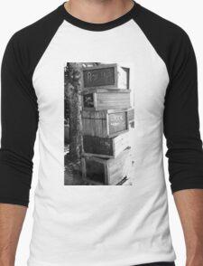 Book Boxes Men's Baseball ¾ T-Shirt