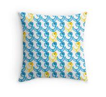Duckie - Quack Throw Pillow