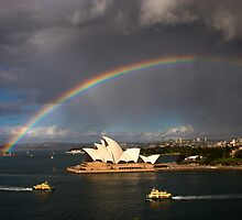 Somewhere Over The Rainbow by MiImages