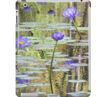 Water Lilies at Cape River iPad Case/Skin