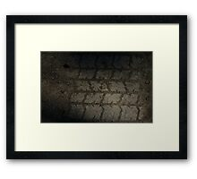 0295 - HDR Panorama - Tread Texture Framed Print
