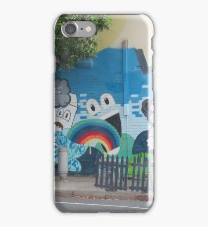 Cartoon StreetArt Melbourne iPhone Case/Skin