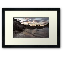 Alma bay2 Framed Print