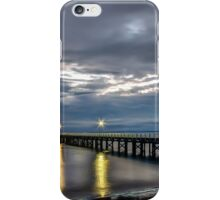 Morning at Urangan Pier iPhone Case/Skin