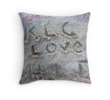 Somebody Loves Somebody Else Throw Pillow
