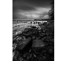I will strike upon thee with great vengeance Photographic Print