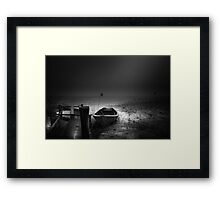 I cant go home Framed Print