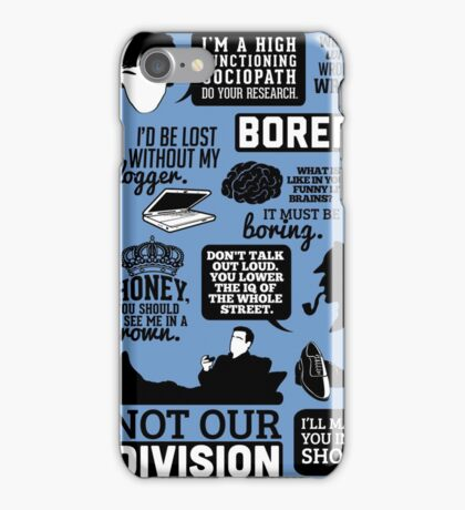 I'd Be Lost Without My Blogger iPhone Case/Skin