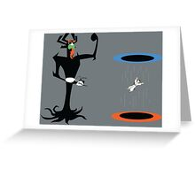 A Portal In Time Greeting Card