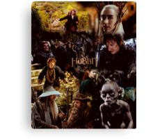 The Hobbit Design Canvas Print