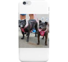 Little Old Gossip Gals at Christmas iPhone Case/Skin