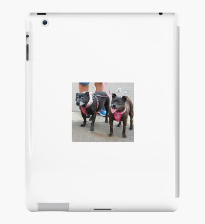 Little Old Gossip Gals at Christmas iPad Case/Skin