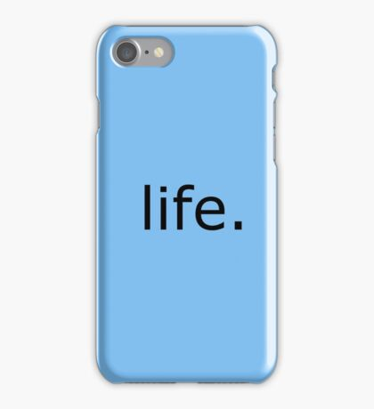 Life - It's More Than Just A Game iPhone Case/Skin