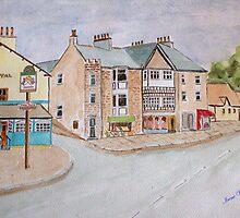 Watercolour . Silverdale Lancs UK by Irene  Burdell
