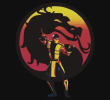 Mortal Kombat - Scorpion by darthpaul