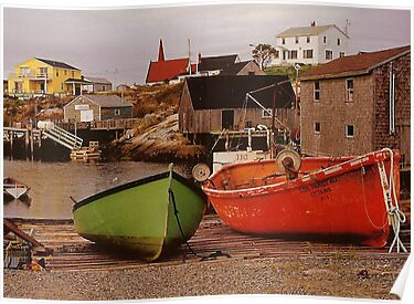 Peggy's Cove - Nova Scotia by John Butler