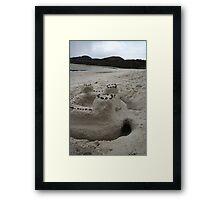 Silver Sands Framed Print