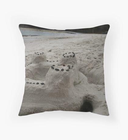 Silver Sands Throw Pillow