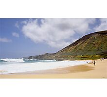 Sandy Beach Oahu  Photographic Print
