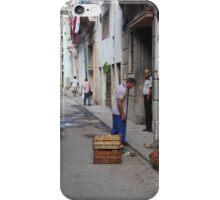 Street scene, Havana iPhone Case/Skin