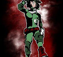 Most Powerful Hero (Izuku Midoriya) by Alessandro Bianco