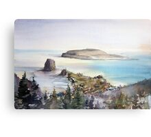 Cap Perce. Quebec. Canada Canvas Print