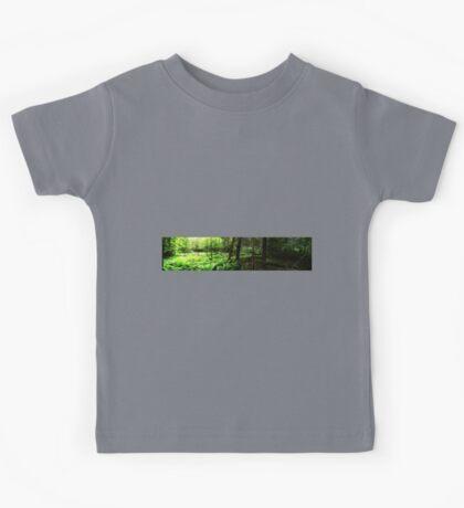 0395 - HDR Panorama - Woods Opening Kids Tee