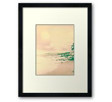 Fade to .. summer Framed Print