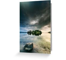 Serenity by dawn II Greeting Card