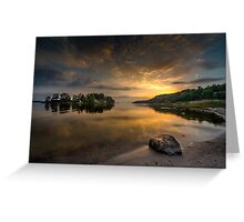 Serenity by dawn Greeting Card