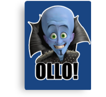 Megamind - Will Ferrell - Ollo! Hello! Canvas Print