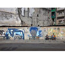 Havana graffiti Photographic Print