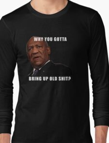 Satire, Comedy, Classic Cosby T-Shirt Long Sleeve T-Shirt