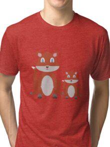 Dune Fox Duo Tri-blend T-Shirt