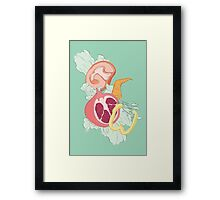 Supportive Salad Framed Print