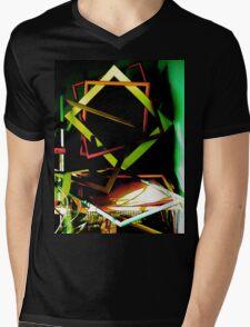 Accidental Art Mens V-Neck T-Shirt
