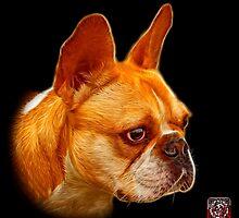 French Bulldog Pop Art - 0755 by Rateitart