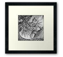Ancalagon at Thangorodrim Framed Print