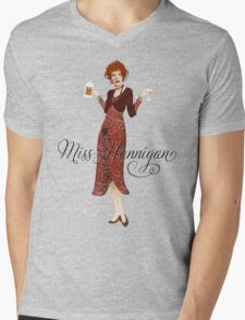 ANNIE - Miss Hannigan Mens V-Neck T-Shirt