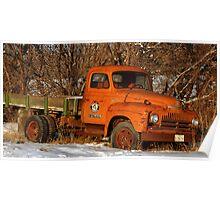 Antique Water Truck - Spanish Fork, UT Poster