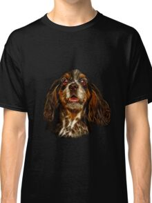 cocker spaniel dog art - 8249 Classic T-Shirt